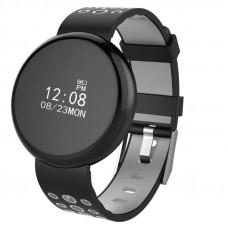 Смарт Часы LYNWO I8 серый-чёрный измерение сердечного ритма, кислорода в крови, кровяное давление, IP67 водостойкий