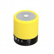 Портативная Bluetooth колонка WSTER WS-631 Yellow (WS-631-Y)