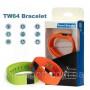 Фитнес браслет  TW64 Оранжевый! шагомер; калькулятор калорий; измеритель дистанций; анализатор качества сна, будильник