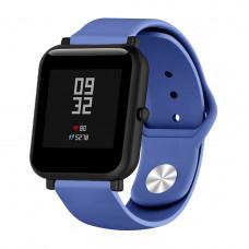Ремешок BeWatch силиконовый для Xiaomi Amazfit BIP Navy (1010389)