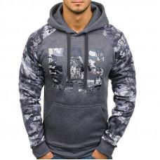 Толстовка , балахон, худи, куртка рукава камуфляж код 82