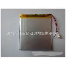 Аккумулятор  387685P  2800mAh  Размер :3,8 мм * 76 мм * 85 мм  литий-полимерный  для планшета и другой электроники