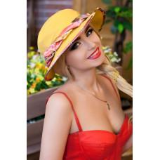 Шляпа-панама «Мелиса» (желтый) Braxton
