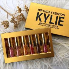 Помада Kylie 8607 gold набор 6 штук!