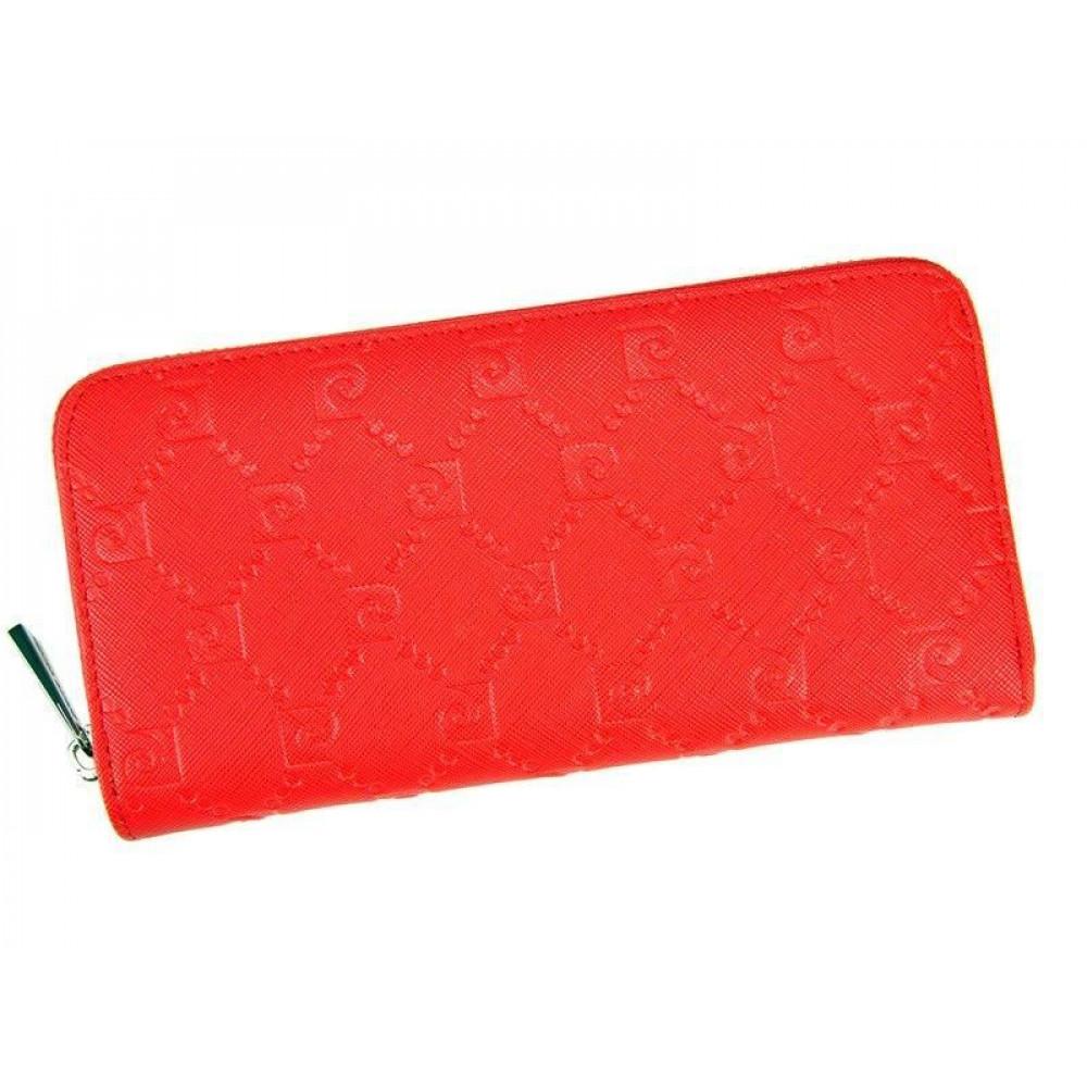 Женский кошелек Pierre Cardin красный Франция (красный)