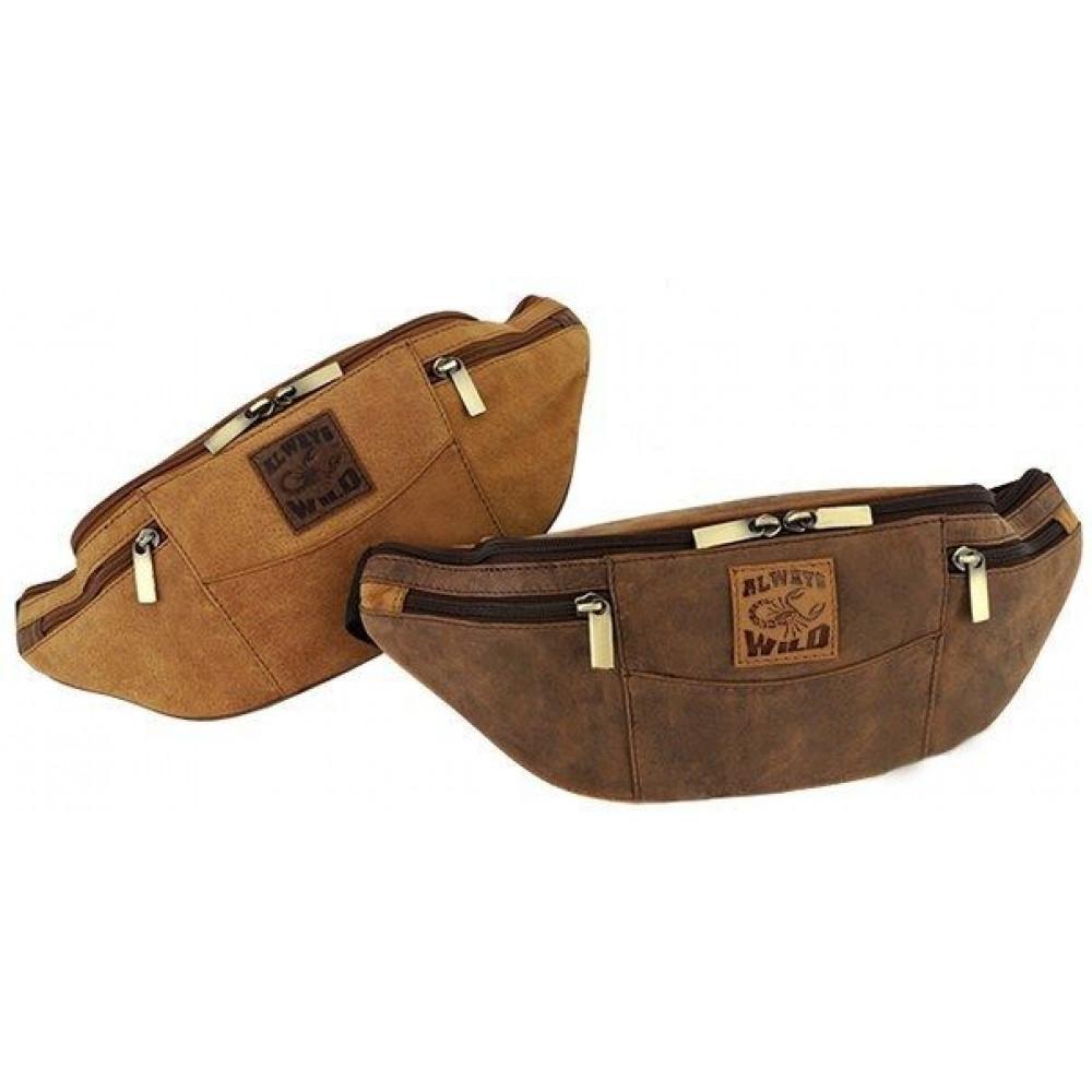 Барсетка, сумка на пояс бренд Оригинал ALWAYS WILD