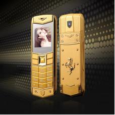 H-Mobile A8 (Mafam A8) gold. Vertu design