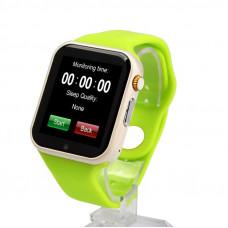 Умные часы Smart Watch A1 зелёные Sim карта + камера