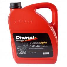 Моторное масло Divinol Syntholight 505.01 SAE 5W-40 5л (49540)