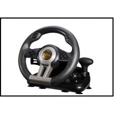 USB-руль для гоночных игр с педалью PXN V3II PC Racing Wheel, 180-градусный универсальный