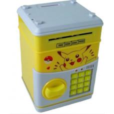 Электронный сейф-копилка с кодовым замком Пикачу (101259)
