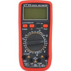 Мультиметр цифровой тестер UT61A Red (009898)