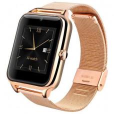 Часы Smart Watch Phone Z60 золото  на Сим карту + Камера Новинка!