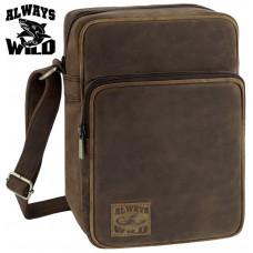New 2020 Мужская сумка Always Wild натуральная кожа Польша
