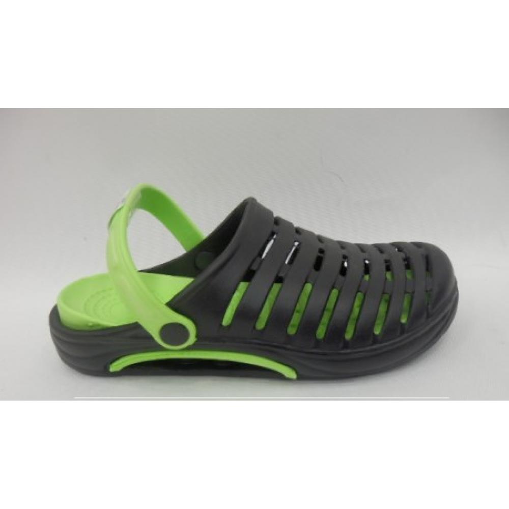 Сабо мужские зелено-черные 45 размер Распродажа!