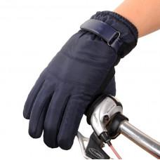 Перчатки  для сенсорных экранов непромокаемые, ветрозащитные, утепленные !  Синие код 107