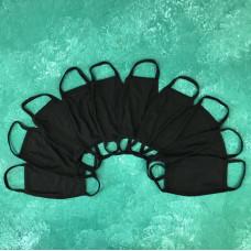 Набор защитных масок City-A Бафф K-Pop 10 шт Черный (city28.3)