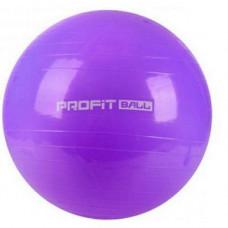 Фитбол мяч для фитнеса Profit 65 см усиленный 0382 Фиолетовый (007302)