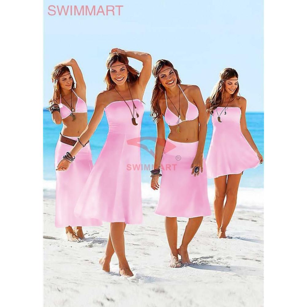 Платье-парео для пляжного отдыха Тренд 2017