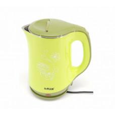 Чайник электрический A-plus AP-2129 2,2 л Green (300417GR)