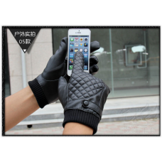 Перчатки мужские для сенсорных экранов  очень теплые Новинка! код 102