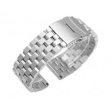 Ремешок-браслет BeWatch ширина 22 мм стальной универсальный BeWatch Quadro Серебро (1024405)