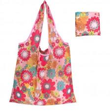Женская сумка для покупок eTya складывающася Розовая (AJ_bs03)