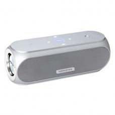 Портативная акустическая стерео колонка Hopestar H19 Silver