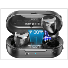 Беспроводные наушники Bluetooth TOZO T12 IPX8 Водонепроницаемые наушники