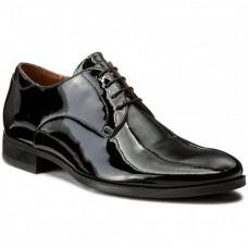 Мужские лаковые кожаные туфли GINO ROSSI. ПОЛЬША, 100% ОРИГИНАЛ!