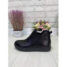 Кеды ботиночки женские натуральная кожа, размеры 36-41