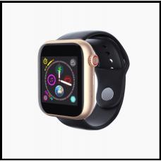 Часы-телефон LEMFO Z6 с Камерой смарт часы чёрные с золотом