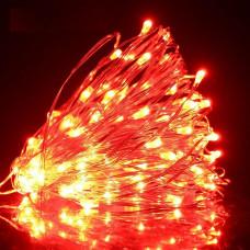 Светодиодная гирлянда LTL Капля росы длина 10м 100led Красная Red (10м100lred)