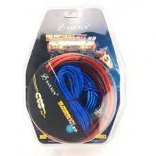 Набор акустических кабелей для усилителя/сабвуфера  1500W KIT X9