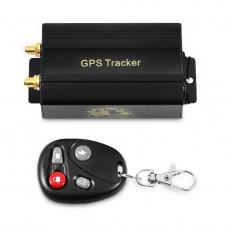 Автомобильный GPS трекер с пультом TK103B