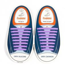 Силиконовые шнурки Coolnice В01 Violet (n-318)
