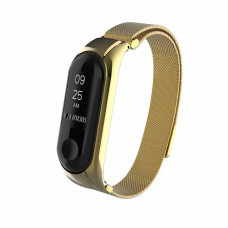 Ремешок  желтый Magnetic V2 for Xiaomi Mi Band 3 color Gold