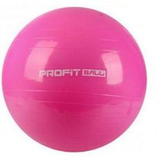 Фитбол мяч для фитнеса Profit 85 см усиленный 0384 Розовый (007314)