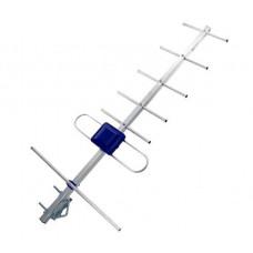 Антенна DVB-T2 Eurosky Фаворит с усилителем 5v 0.7 м Синяя (300057)