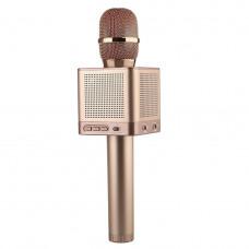 Караоке микрофон MicGeek Q10s Розовое золото Оригинал (05)
