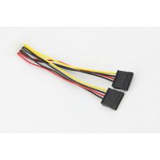 Кабель SATA2-PS переходник питания с Moolex на 2 Serial ATA 0.18m (SATA2-PS)