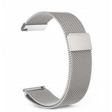Ремешок стальной BeWatch миланская петля шириной 20 мм Стальной (1010205.u)