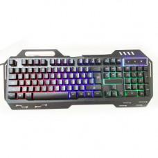 Клавиатура с подсветкой MHZ GK-900 KW 900 USB Черный (007386)