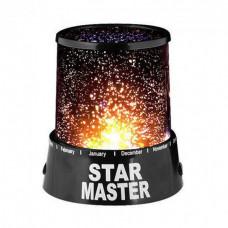 Ночник - проектор Supretto Star Master от USB Черный (5440-0005)