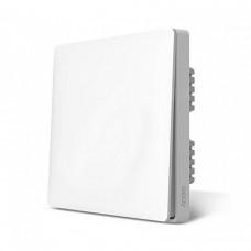 Умный выключатель белый Xiaomi Aqara Smart Light Switch Single Button ZigBee Version