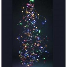 Гирлянда Light Town Конский хвост пучок 300 LED: 15 нитей по 2 м, 20 диодов/ нить, 8 режимов Разноцветный (hub_oLrg48666
