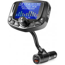 FM-передатчик для автомобиля ZEEPORTE Bluetooth черный Black
