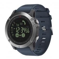 Спортивные умные часы  Zeblaze VIBE 3 синие до 32 месяцев Пыле и водонепроницаемость 5 атмосфер