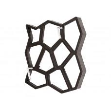 Форма для садовой дорожки Hormusend Замковый камень с ручками 60x60 см (d600600601)