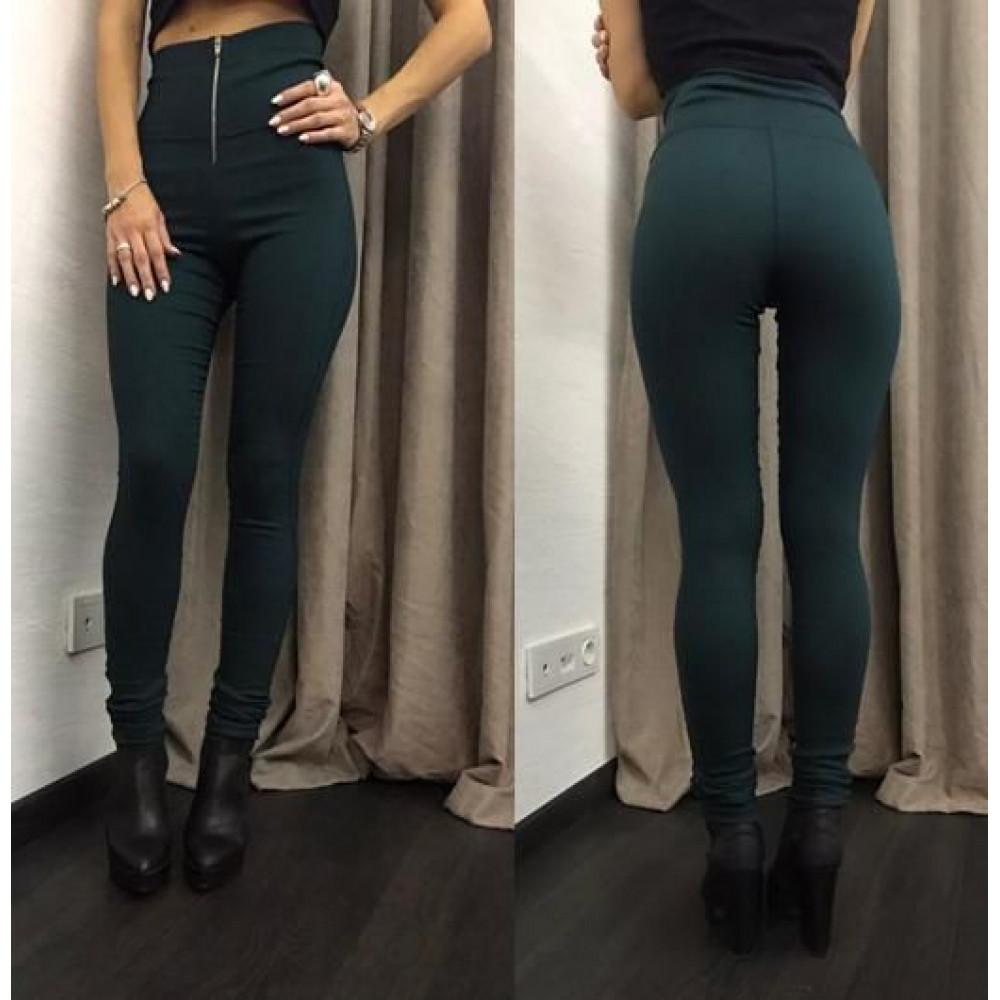 """Модные женские лосины с высокой талией """"Roxy"""" - норма"""